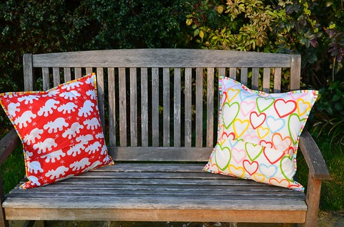 Bronwyn & Christopher's Cushion Backs