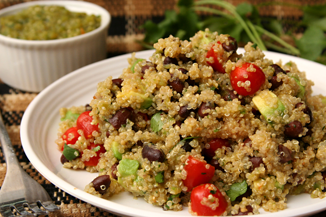 black bean quinoa 6