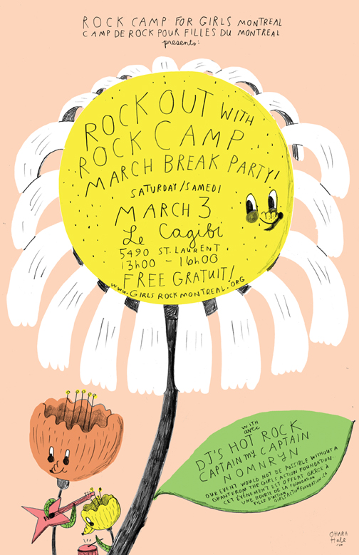 Girls Rock Camp Poster