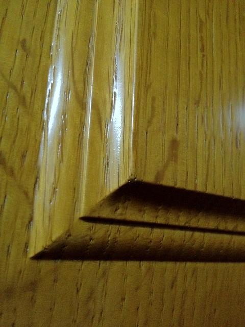 Biselado madera