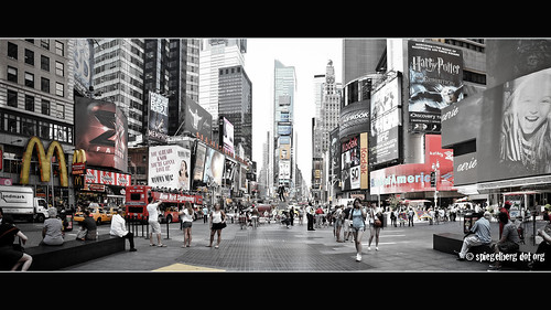 Times Square Pano Contra Lux