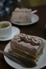 Cake @ Cafe Santo Domingo