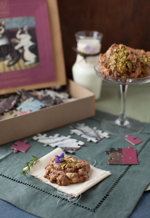 Chocolate Pistachio Cookie 4