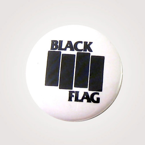Black Flag One Inch Button