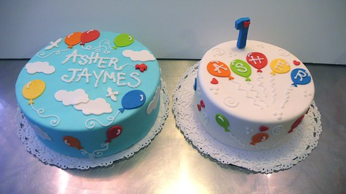 Balloon UP Birthday Cakes by CAKE Amsterdam - Cakes by ZOBOT