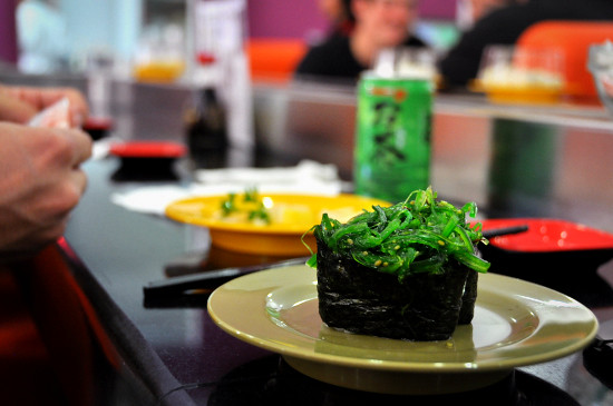 Sushi Train at Hana Japanese Restaurant Toowoomba