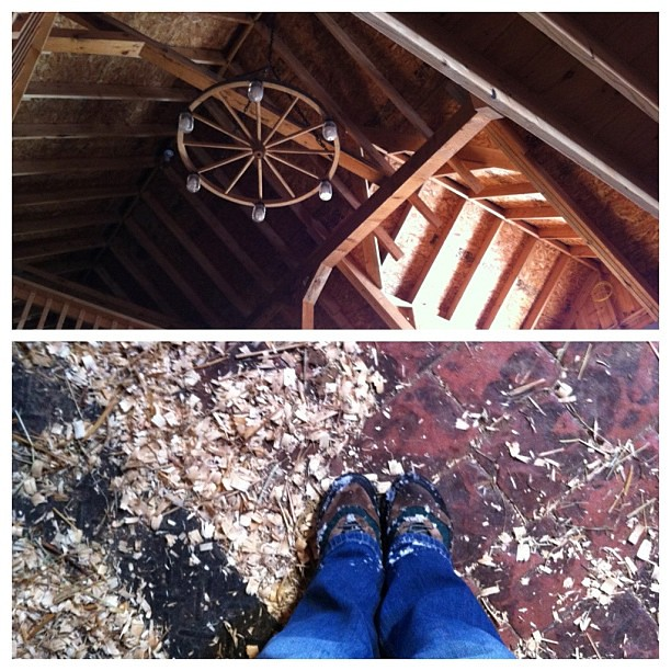 Beautiful horse barn. #abovemyhead #belowmyfeet