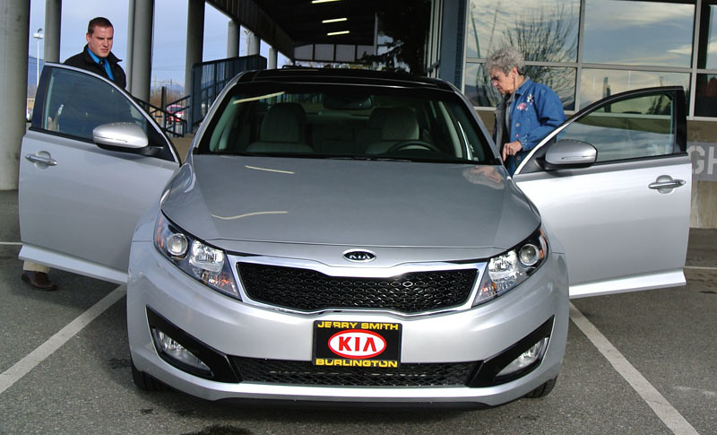 Pat's Kia Optima 2