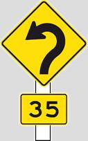 3纽西兰较特别的交通告示牌
