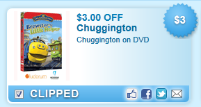Chuggington On Dvd  Coupon