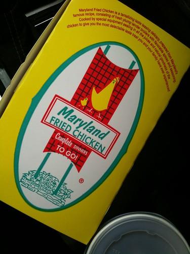 Fried Chicken in a Box