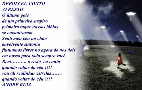 DEPOIS EU CONTO O RESTO by amigos do poeta