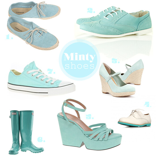mint shoes collection