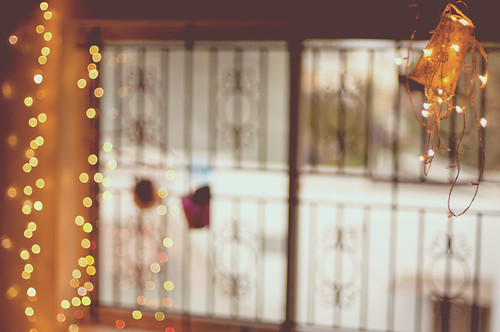 The bokeh in my room
