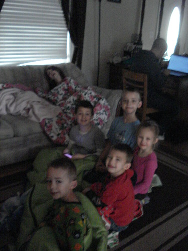 Feb 18 2012 Reed, Cal, Haley, Clark Anthon Rachel