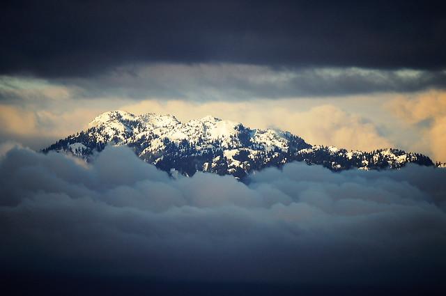 Far Far Away Snow Mountain