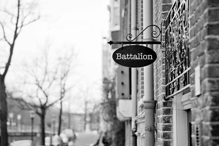 stefan golz at battalion, by andenken gallery & mather::art