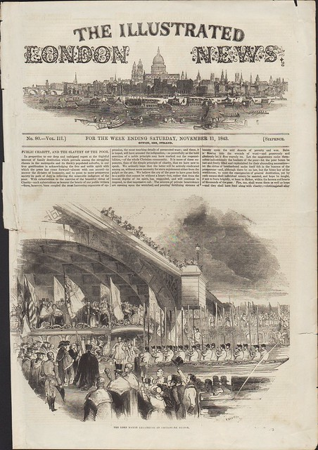 Front page of the Illustrated London News