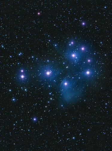 M45 re-process from Nov 2010 by Mick Hyde
