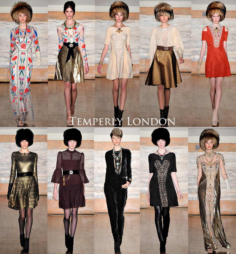 Temperly London LFW