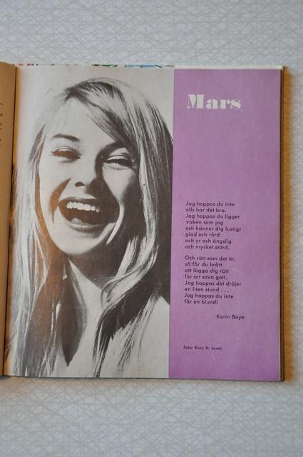 Evas kalender mars 1963