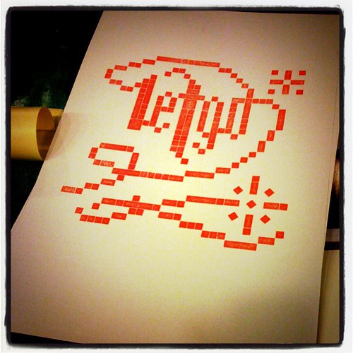 Student letterpress print from LEGO. by KozoStudio