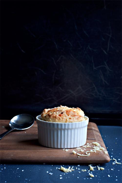 Cheese + Wasabi Soufflé