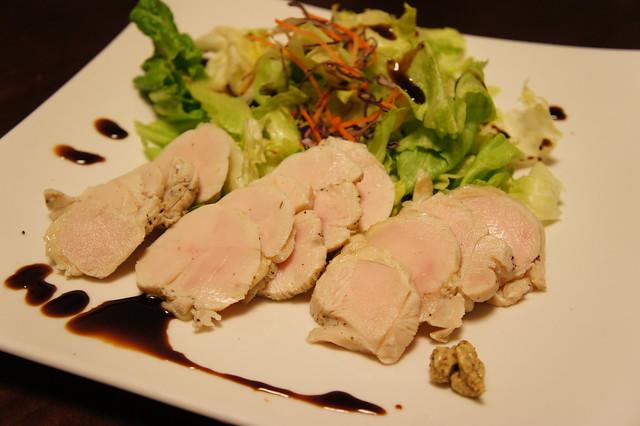 鶏ハムのサラダ