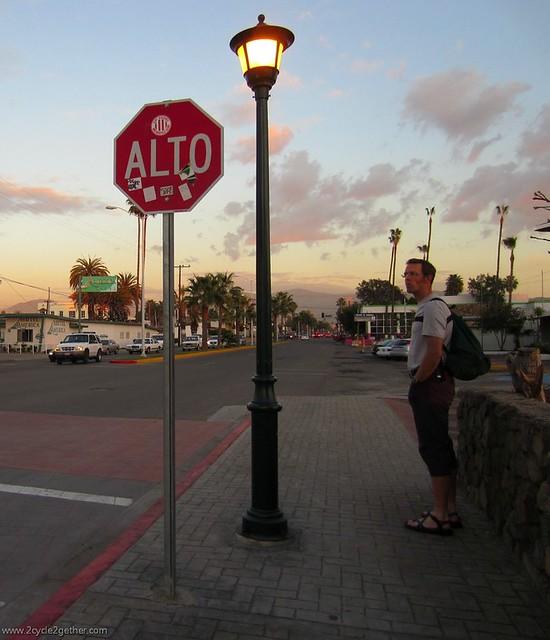 Ensenada streets