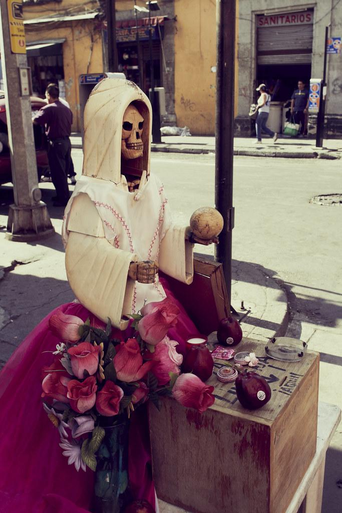 Santa Muerte | Santa Muerte is a sacred figure venerated in … | Flickr