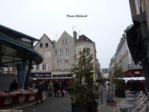 Chartres - Marché couvert - place Billard