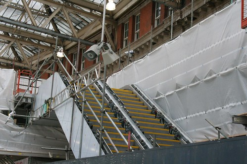 Under construction at Waterloo