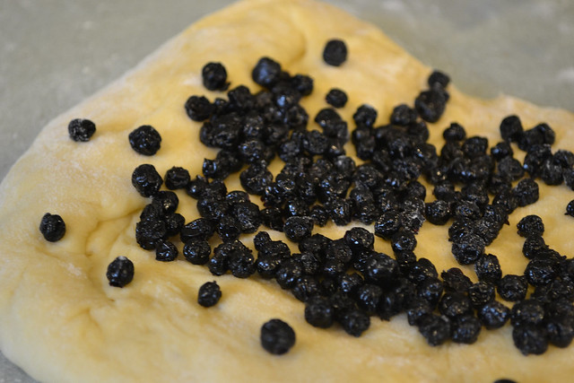Wild Blueberry and Agave Challah