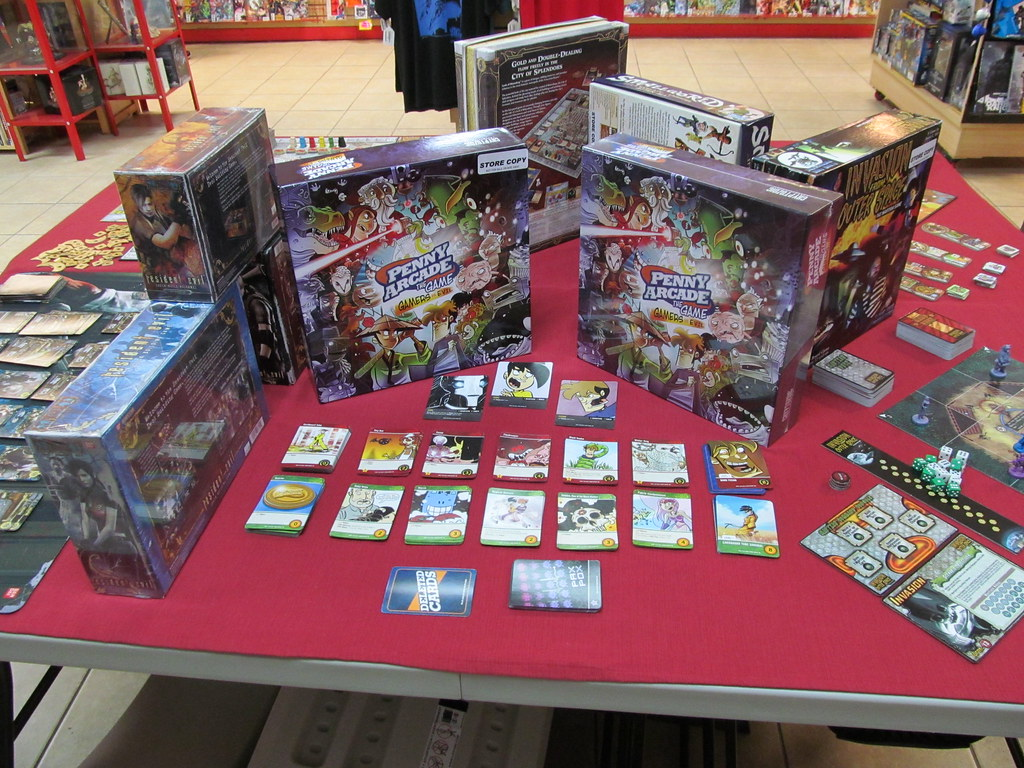 Best Out of the Box Game Display - Lone Star Comics in Mes