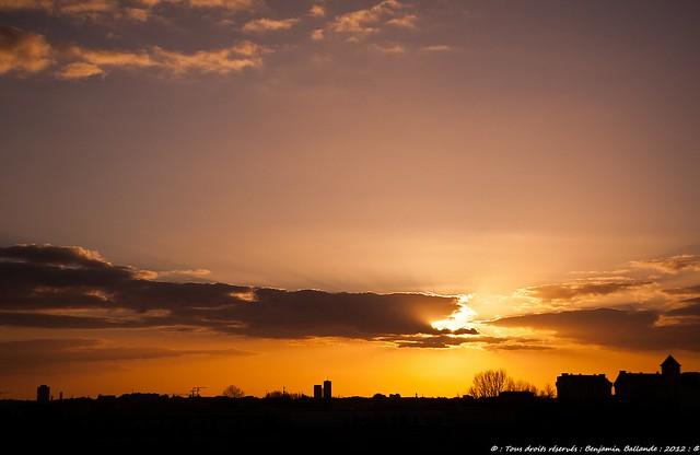 Sunset : Bordeaux : 03/2012 Nikon D700 : Tokina 28 70 ATX Pro