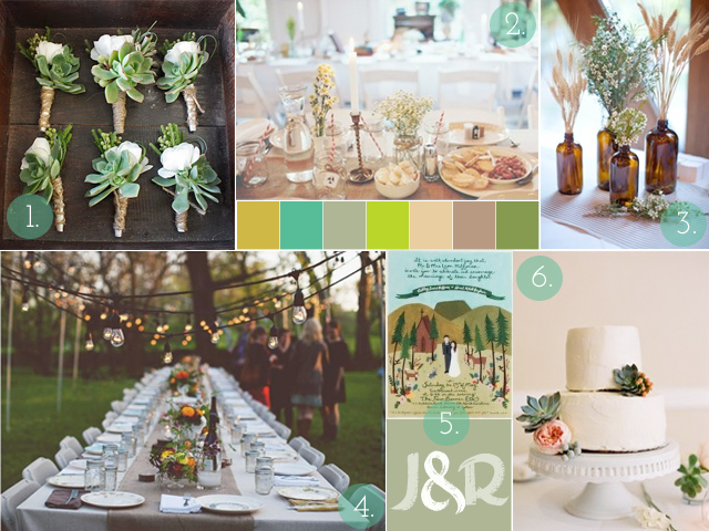 wedding inspiration board