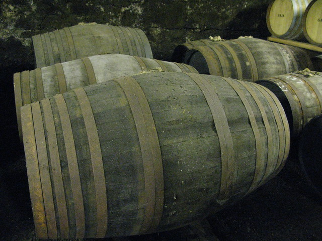 Springbank distillery - Port pipes