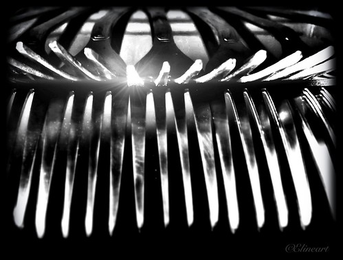 271/365- Sparkling cutlery by elineart