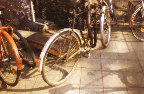 Bicylcle lot, Budapest