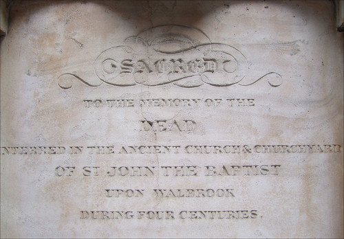 SACRED to the memory of the DEAD during four centuries
