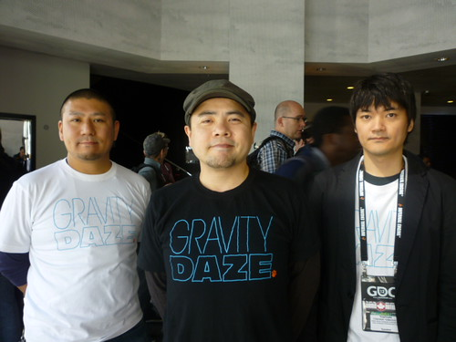the creators of Gravity Rush/Daze
