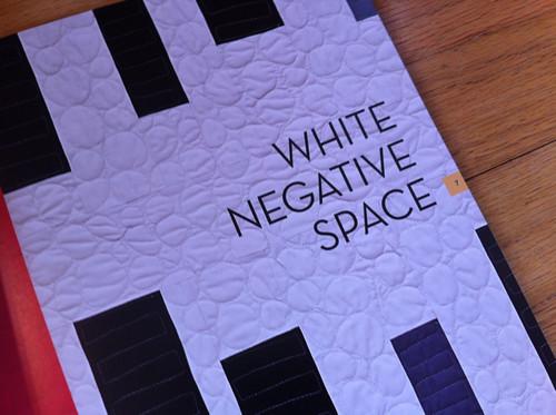 White Negative Space