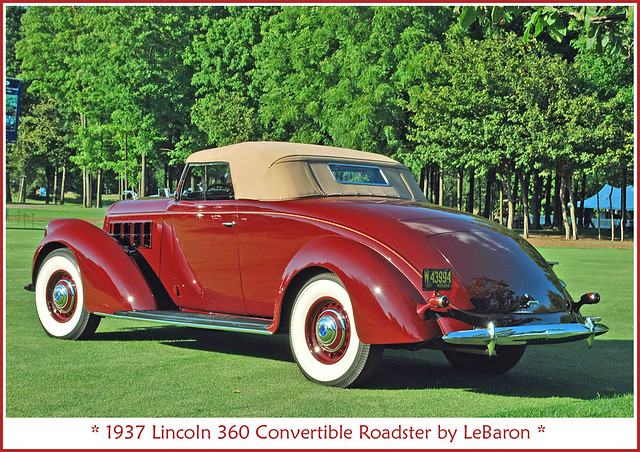 1937 Lincoln Convertible Roadster