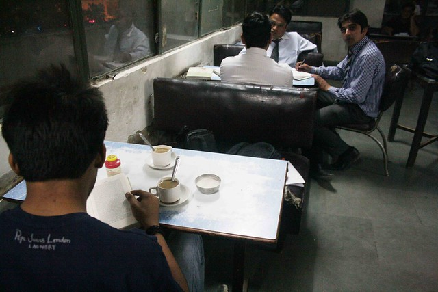 City Reading – The Delhi Proustians – XIII, Indian Coffee House