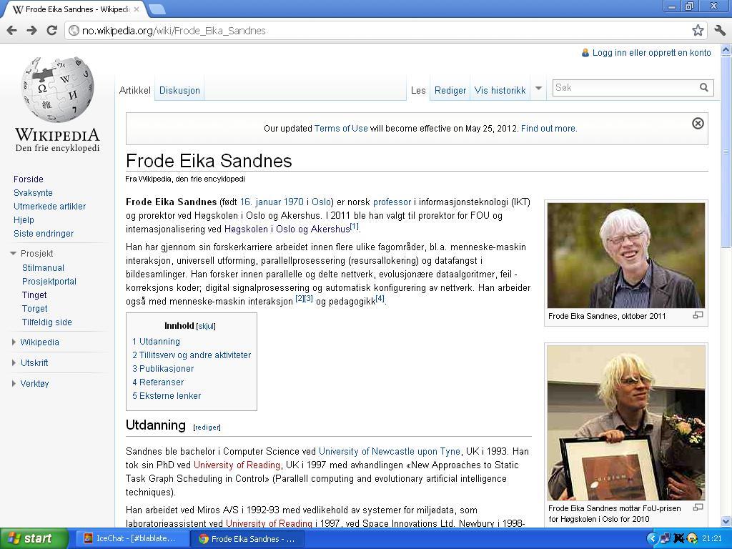 står ikke noe på wiki