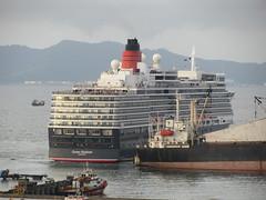 MS Queen Elizabeth From Kota Kinabalu CBD