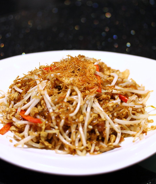 Canton Paradise: Wok-fried Bean Sprout with Vermicelli and Salted Fish
