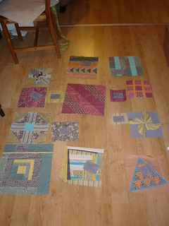 Playing with layout for FMB2 quilt