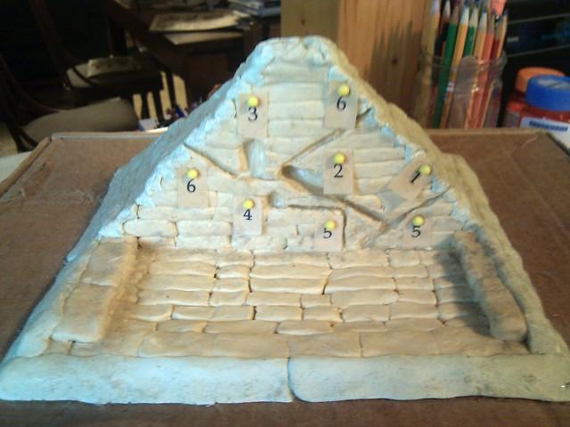 Great Pyramid project closeup   Flickr - Photo Sharing!