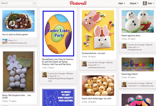 Pinterest - Easter Collaborative Board